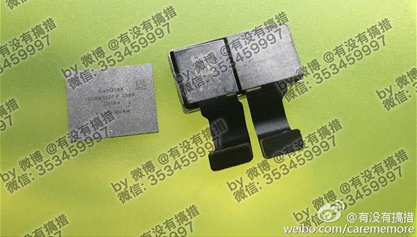 iPhone 7 Plus fuite double capteur photo et puces de stockage 2 - iPhone 7 Plus : photos du double capteur et des puces de stockage