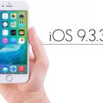 iOS 9.3.3 bêta 4 disponible pour les développeurs