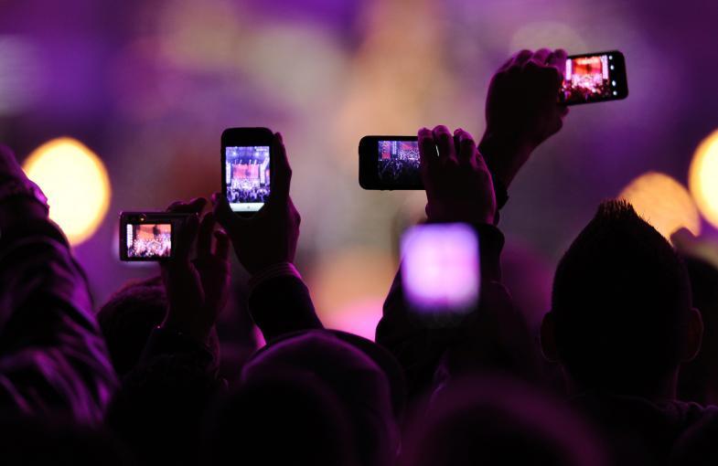 iphone concert - Brevet Apple : bloquer les photos et vidéos prises avec l'iPhone en concert