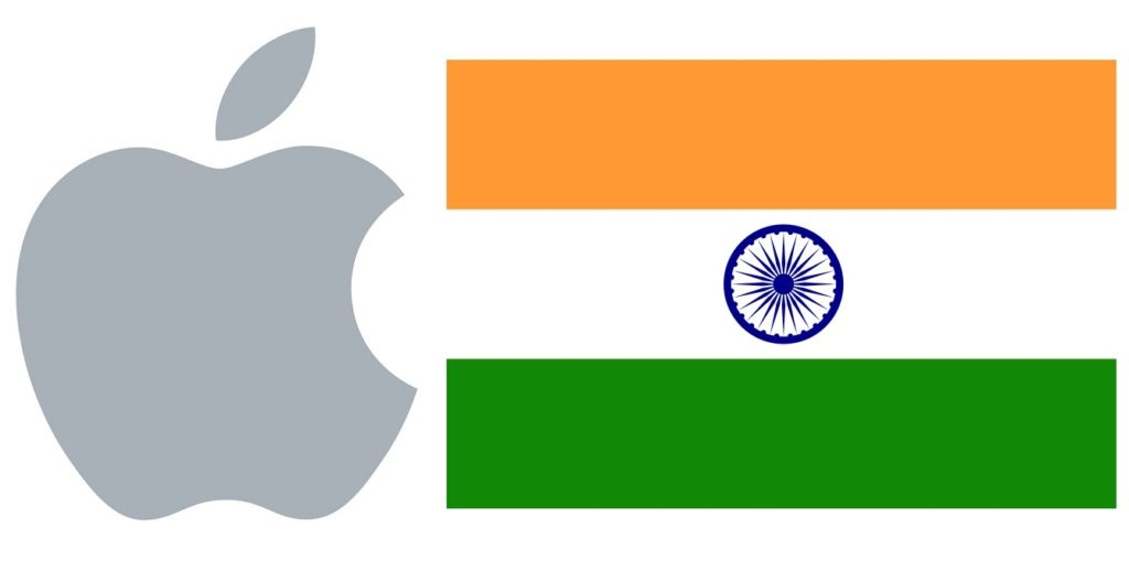 logo apple inde 1024x527 - Apple commence officiellement à produire des iPhone SE en Inde