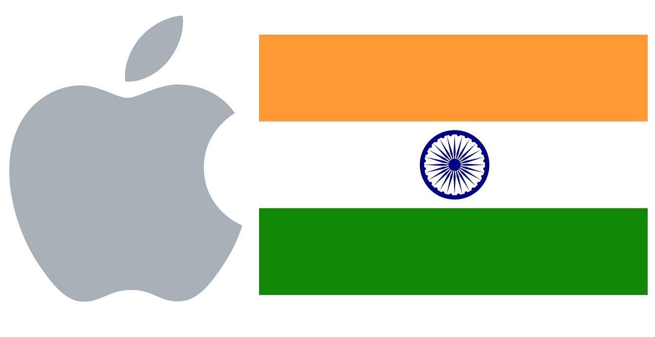 logo apple inde - Apple souhaite toujours produire des iPhone en Inde
