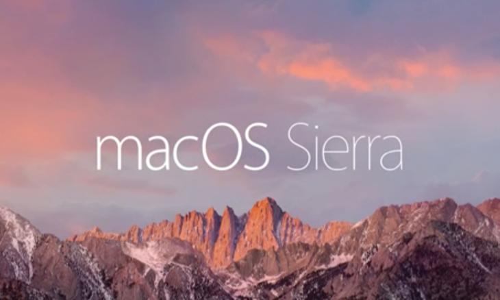 Apple force les utilisateurs à télécharger macOS Sierra