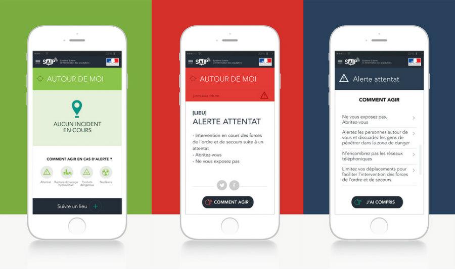 saip iphone application - SAIP : l'app du Ministère de l'Intérieur pour s'informer en cas d'attentats