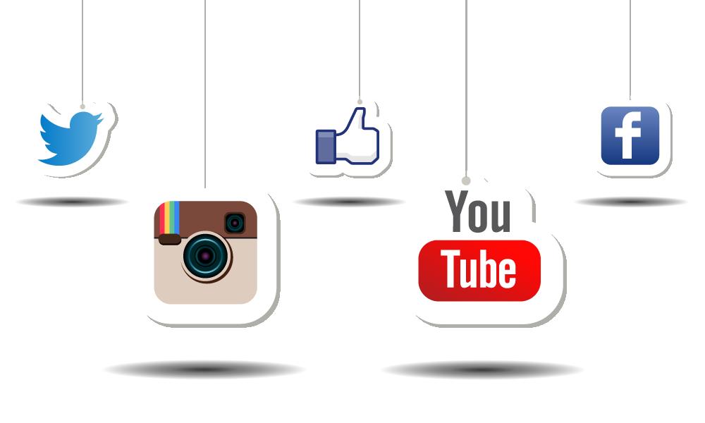 Resultats de recherche d'images pour youtube facebook instagram»