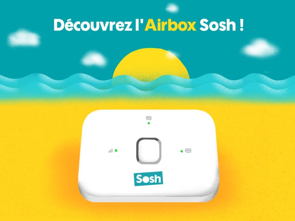 airbox sosh un bo tier hotspot wifi pour partager son forfait 4g. Black Bedroom Furniture Sets. Home Design Ideas