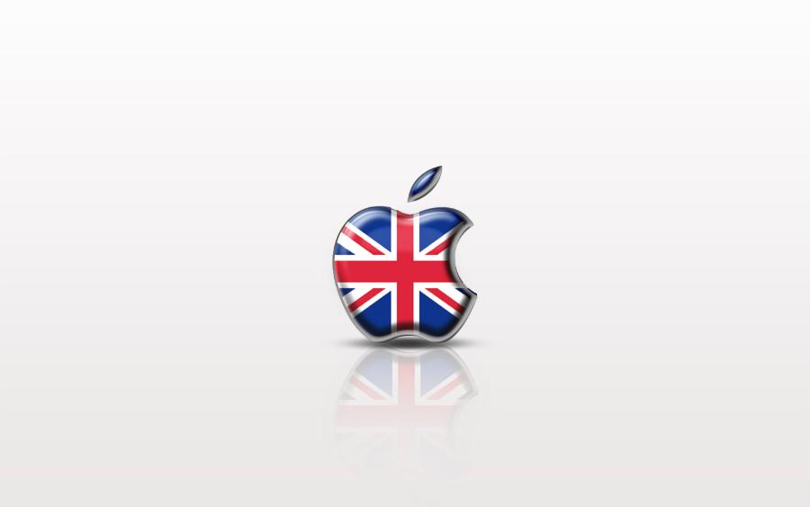 Apple Royaume Uni Angleterre logo - Brexit : les prix des appareils Apple moins chers au Royaume-Uni