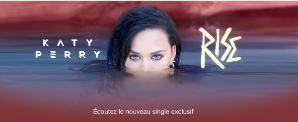 Katy Perry Single Exclusif iTunes Apple Music - Katy Perry & Britney Spears : leurs singles réservés à iTunes & Apple Music