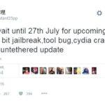 Jailbreak iOS 9.3.3 untethered : sortie le 27 juillet pour les iPhone 32 bits ?