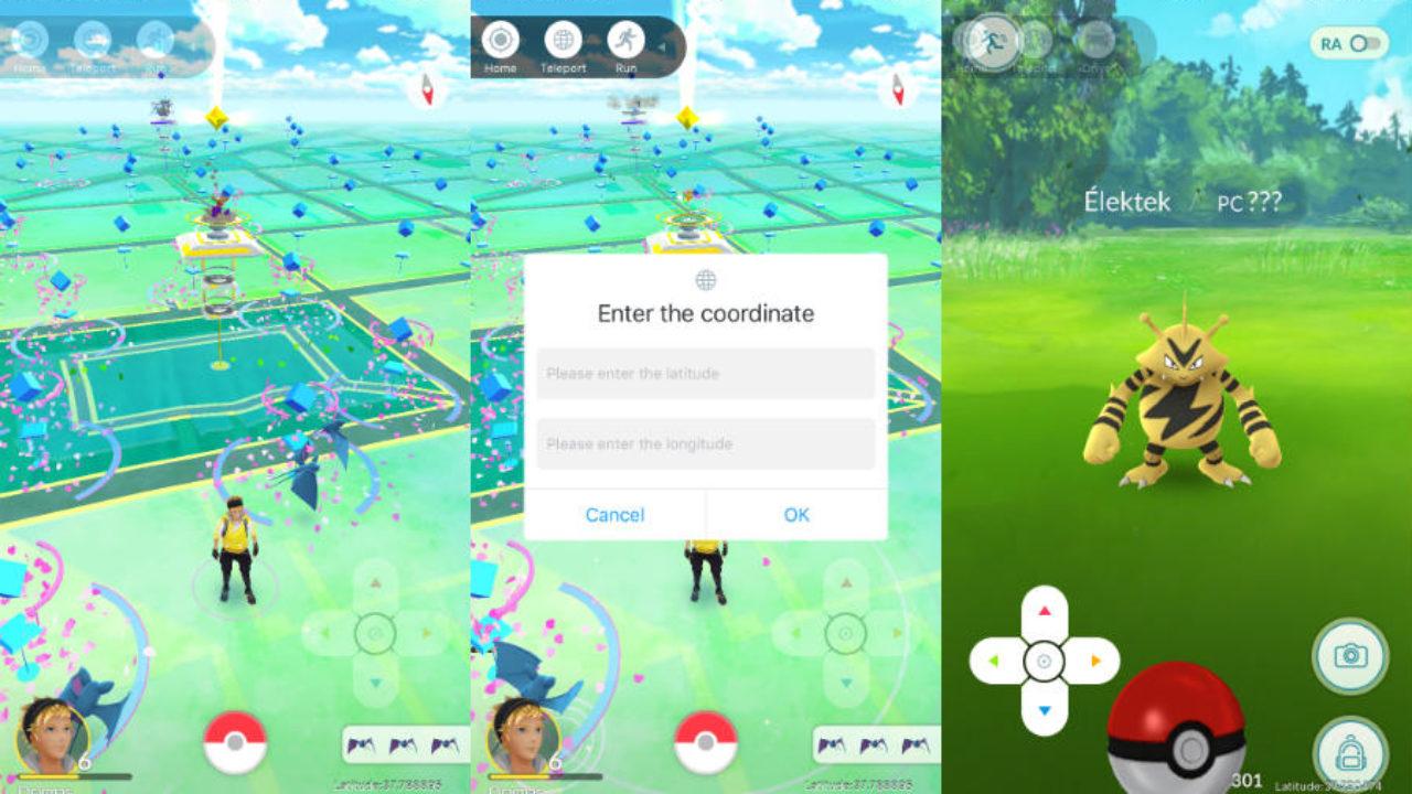 Pokémon GO : tricher & se téléporter (fausse localisation