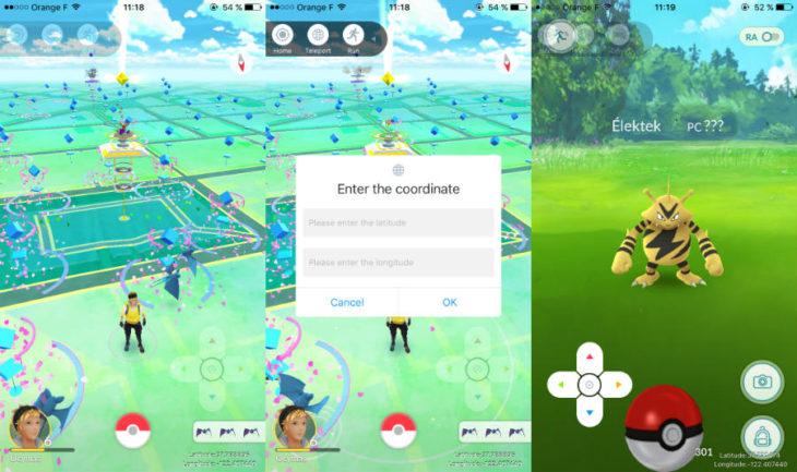 Pokémon GO : tricher & se téléporter (fausse localisation GPS sans jailbreak)