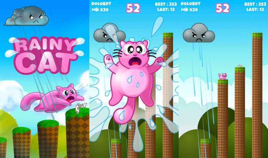 Rainy-Cat-iPhone