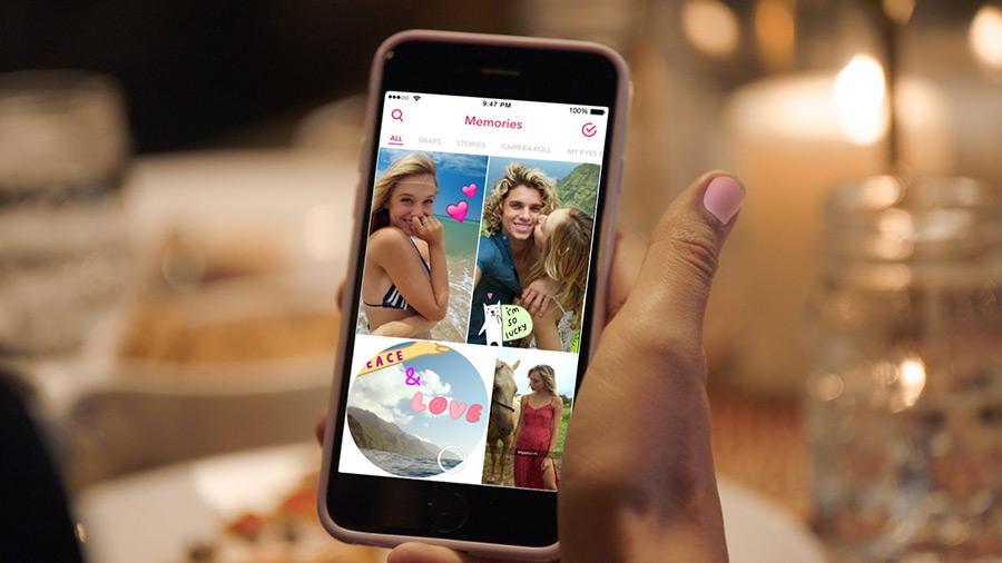 Snapchat Memories - Snapchat : Memories, une fonction pour sauvegarder ses Snaps