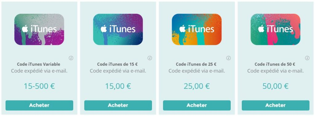 Startselect-codes-itunes