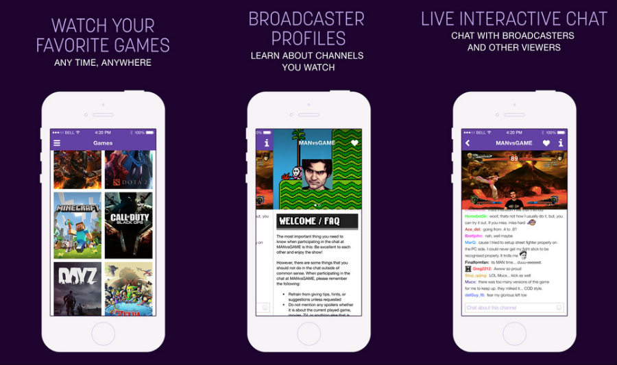 Twitch-iphone