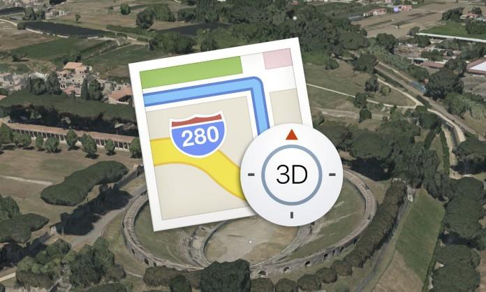 apple-plans-nouvelles-villes-3d-ajoutees