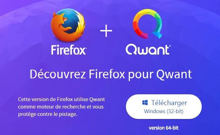 """Qwant & Mozilla vont lancer """"Firefox pour Qwant"""" sur iOS"""