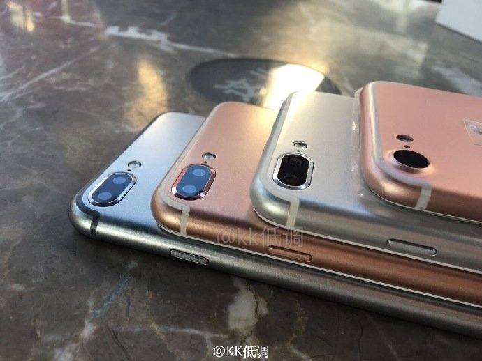 iPhone 7 plus double capteur weibo - iPhone 7 : photo du double capteur (Plus), comparaison avec l'iPhone 6S