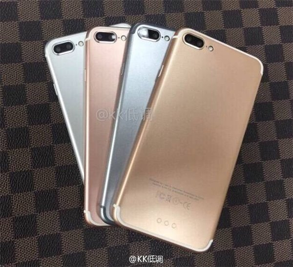 iPhone 7 Pro : une photo du smartphone en 4 coloris ?