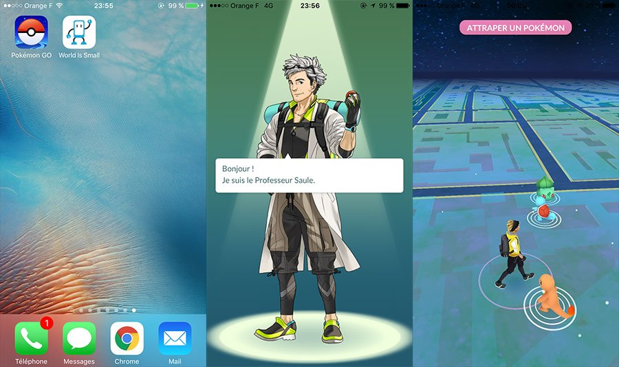 jouer pokemon go iphone tutoriel - Tutoriel : jouer à Pokémon GO sur iPhone / iPad en France