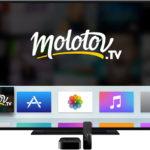 Molotov est disponible sur iPad, Apple TV & Mac
