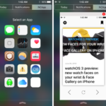 Jailbreak : NCapps, lancer des apps depuis le Centre de notifications