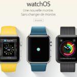 Apple.com : les pages de watchOS 3 et tvOS 10 enfin en français