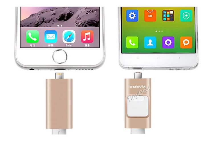 POFAN P8 : clé USB pour iPhone / iPad & smartphones Android