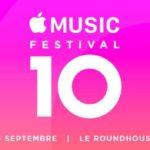 Apple Music Festival 2016 : quels sont les artistes invités ?