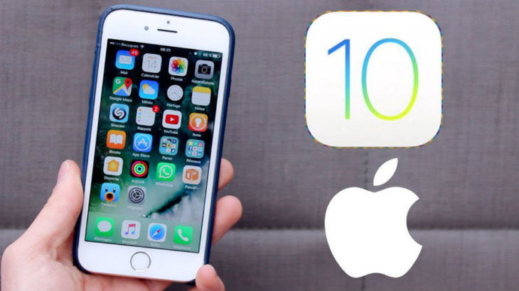 iOS 10 disponible sur iPhone, iPad & iPod Touch
