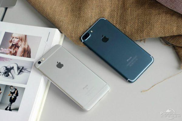 iPhone 7 Plus Bleu Nuit 5 - iPhone 7 Plus : des photos d'un modèle bleu nuit fonctionnel