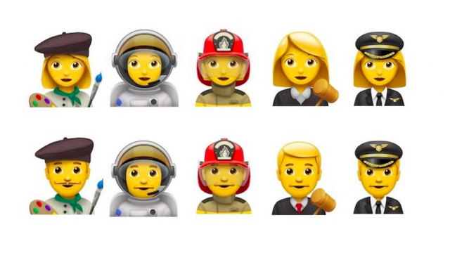 ios 10 nouveaux emojis metiers font leur apparition - iOS 10 : de nouveaux Emoji de métiers vont arriver