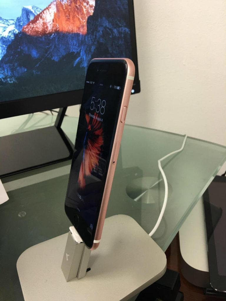 iphone 6s or rose noir 2 768x1024 - L'iPhone 6S Or Rose est sublime avec une façade noire