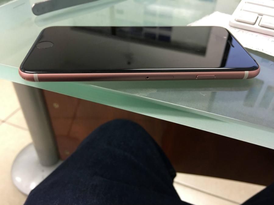 iphone 6s or rose noir 3 - L'iPhone 6S Or Rose est sublime avec une façade noire