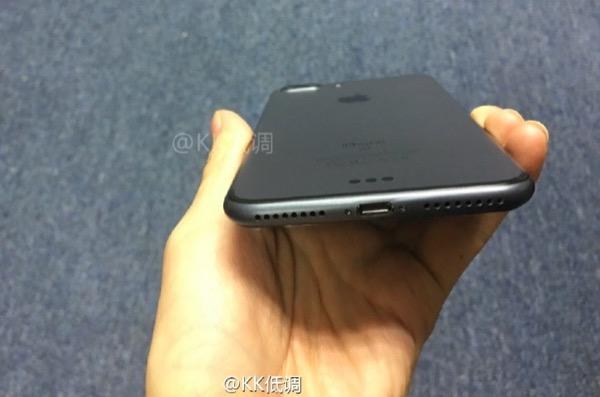 iphone 7 plus noir sideral fuite arriere - Photos : iPhone 7 Plus Or Rose, Noir Sidéral, et coque arrière