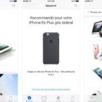 Apple Store iOS : nouveau design, recommandations et plus