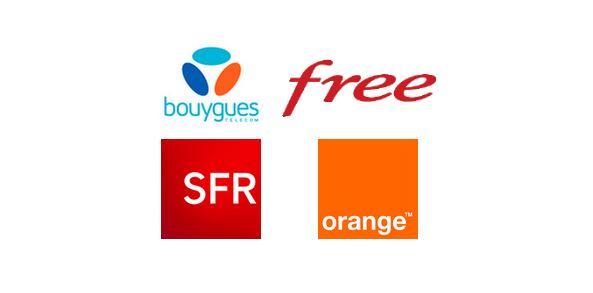orange sfr free bouygues - 4G en France : les chiffres de SFR, Bouygues, Orange, Free Mobile (2017)