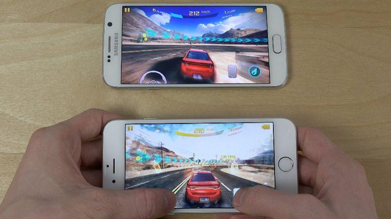smartphones iphone 6 galaxy S6 jeux - Comment le smartphone va devenir le 1er marché des jeux vidéo