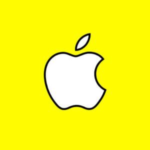 snapchat apple 300x300 - Snapchat ajoute le zoom vidéo & améliore Discover