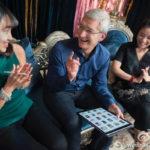 Apple : Tim Cook retourne en Chine et annonce de nouveaux projets