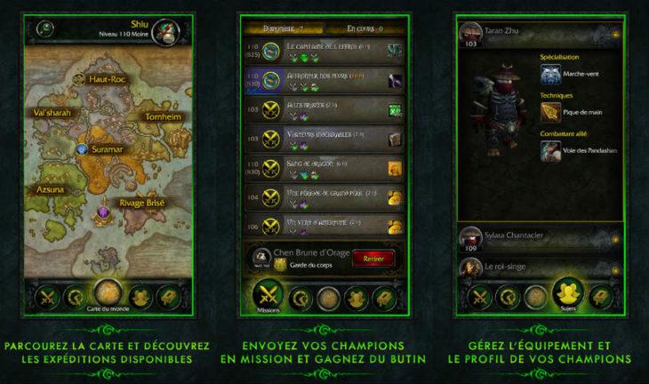 World of Warfact : Blizzard lance l'application WoW Legion Companion