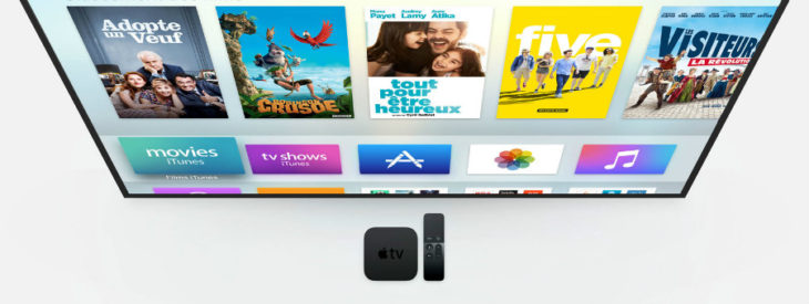 Apple TV : tvOS 10 disponible en version finale