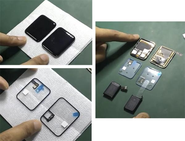 Apple Watch 2 : son écran et sa batterie se dévoilent