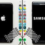 iPhone 7 vs Galaxy Note 7 : quel est le plus rapide ?