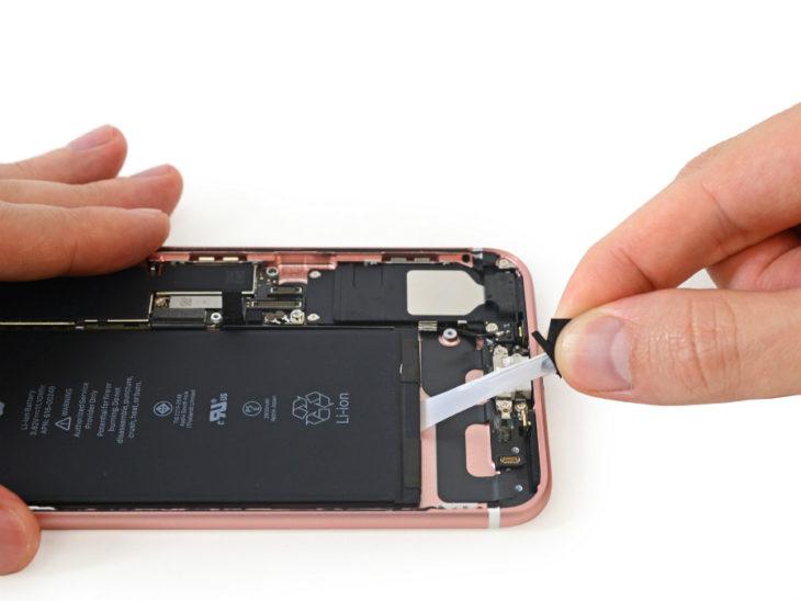 iFixit démonte l'iPhone 7 Plus : la batterie de 2900 mAh confirmée