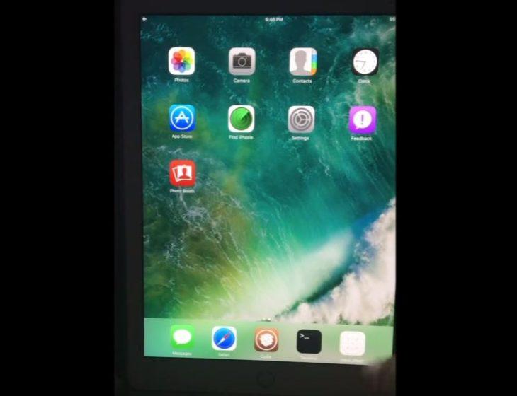 Jailbreak iOS 10 : vidéo de Cydia sur iPad par Luca Todesco