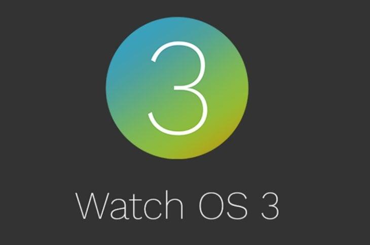 Apple Watch : watchOS 3 disponible en version finale