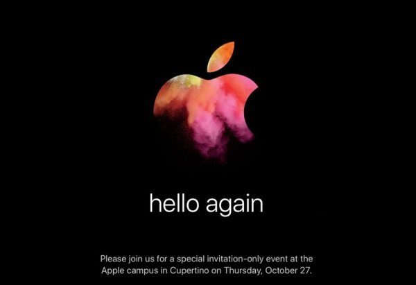 Invitation Keynote 27 Octobre 2016 Apple - Apple : Keynote Macbook Pro & MacBook Air le 27 octobre (officiel)
