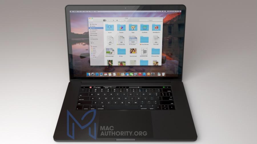 MacBook Pro 2016 noir concept 2 - MacBook Pro 2016 : une déclinaison en noir (concept) ?