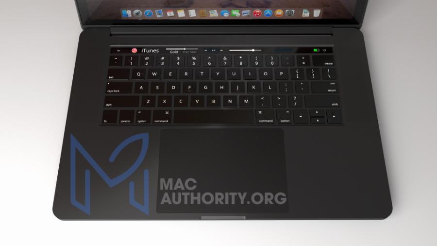 MacBook Pro 2016 noir concept 3 - MacBook Pro 2016 : une déclinaison en noir (concept) ?