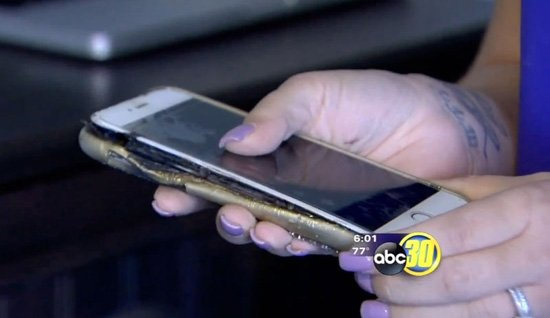 etats unis iphone 6 plus explose recharge - États-Unis : un iPhone 6 Plus explose pendant sa recharge